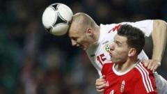 Футболните ни национали завършиха наравно 1:1 при гостуването си на Унгария в първия мач на новия селекционер Любослав Пенев