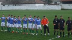 Футболистите на българския тим