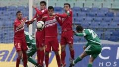 Футболистите на ЦСКА завършиха наравно и във втората си контрола в Турция