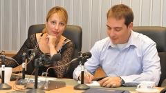 Мария Христова и Александър Райчев