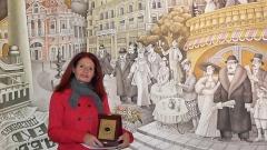 Даниела Маноловас годишнатанаградана СБЖ в категория