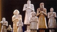 Статуетки на шумерски идоли.