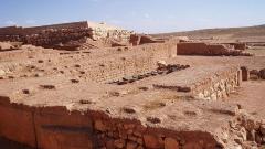 Разкопките на древния град Ебла.