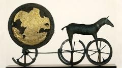Бронзовата колесница от датския остров Зиланд.