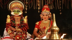 Сцена от индийски театър