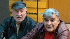 """Джони Пенков (вляво) и Джеки Стоев в студиото на програма """"Христо Ботев""""."""