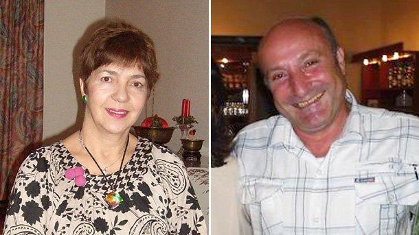 На снимката: Рада Добриянова и Райчо Русев-Райсън.