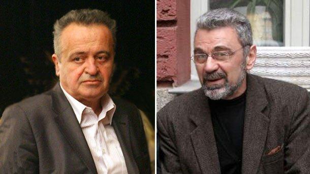 Николай Петев (вляво)и Константин Казански