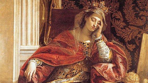 """Фрагмент от """"Св. Елена"""" на Паоло Веронезе, 1580 година."""