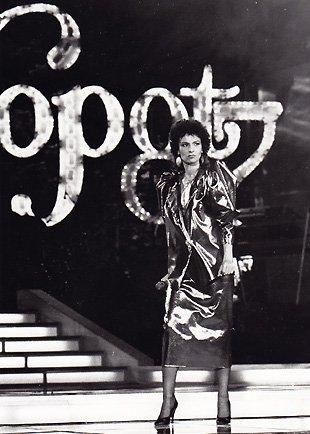 Румяна Коцева на фестивала Сопот, Полша (1987 г.)