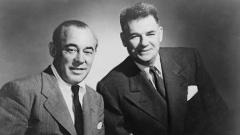 Авторският тандем Ричард Роджърс (вляво) и Оскар Хамърстейн.