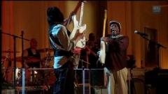 Снимка от концерта на Миг Джагър (на сн. в гръб) от 21 февруари 2012 в Белия дом. Повече за музикалните представления можете да научите тук.
