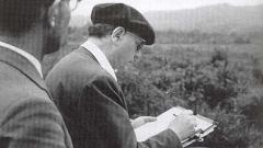 Оливие Месиен записва звуци на птици през 1962 г. в Япония.