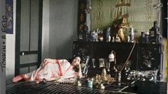 """Една от снимките от проекта """"Архивите на планетата"""" на Албер Кан, направенав началото на миналия век във Виетнам, представена на изложбата във Националната художествена галерия."""