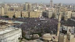 Площад Тахрир, Кайро.