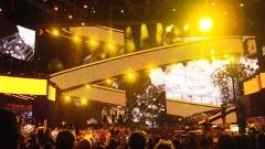 """Театър """"Аристон"""" в Санремо - сценография на Гаетано Кастели от последното издание на фестивала (2011 г.)"""