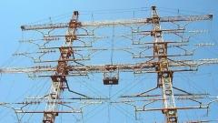 Eдна от антените в предавателния център Пъдарско, до Пловдив