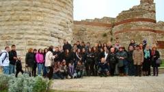 Гостите - ученици и преподаватели от Европа са очаровани от българската култура и история.