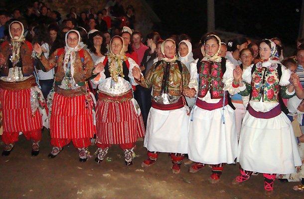 Женский свадебный хоровод из с. Шиштавец