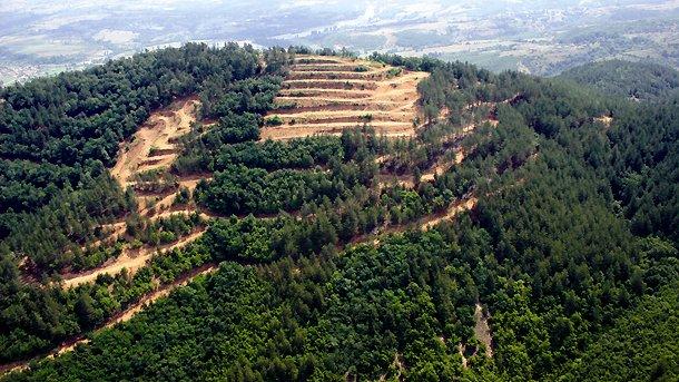На Ада-Тепе сохранились рудные залежи с высоким содержанием золота