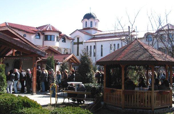 Обрадовский монастырь Святого Великомученика Мины