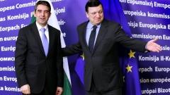 Президент Болгарии Росен Плевнелиев и председатель Еврокомиссии Жозе Мануэль Баррозу