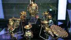 Один из эмблематических памятников фракийской культуры и торевтики - Панагюрский золотой клад