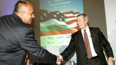"""Kryeministri Bojko Borisov ishte i pranishëm në Konferencën me temë """"Perspektiva të reja në marrëdhëniet tregtare e ekonomike midis Bullgarisë dhe ShBA-së""""."""
