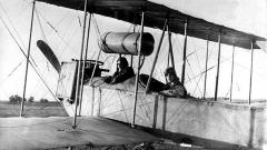 """Avioni i parë bullgar """"Express"""" pas fluturimit të suksesshëm më 10 gusht 1915."""