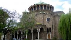"""Tempulli """"Shën e Diela"""", i ndërtuar në një prej vendeve më të vjetra të kultit në qendrën e Sofjes së sotme."""