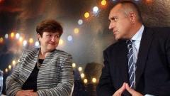 Mirëbesimi ndaj kryeministrit Bojko Borisov ulet me 6% për një muaj, ndërsa me popullaritet më të madh është eurokomisionerja bullgare Kristalina Georgieva.