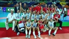 Skuadra kombëtare e grave e volejbollit e Bullgarisë fitoi medalje të argjendtë nga liga Evropiane e volejbollit.