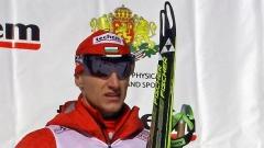 Krasimir Anevi mori medaljen e argjendit dhe të bronzit në turneun e biatlonit për Kupën e Evropës