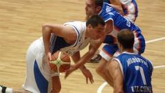 """""""Levski"""" basketbolcuları Balkan Ligi'nde yeni sezona kesin zaferle başladılar. Birinci grup 1. tur maçında şampiyonlar, """"Universiada"""" salonunda Karadağ'ın """"Ulçin"""" takımını 81:58 mağlüp etti."""