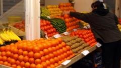 Цитрусите поевтиняват, оранжерийните зеленчуци поскъпват.