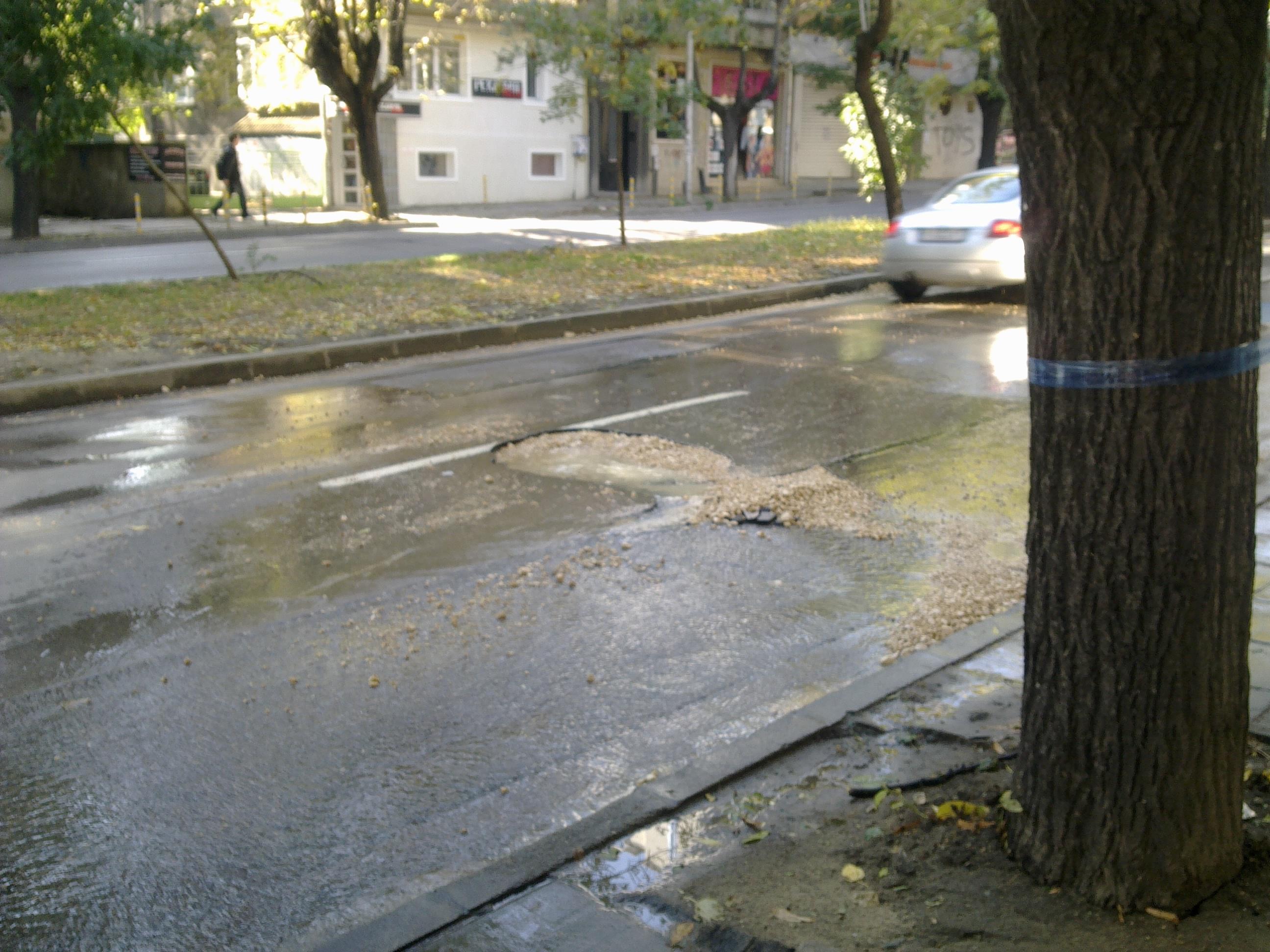 Теч на вода на бул.