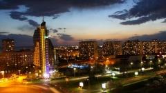 Το Μπουργκάς το βράδυ