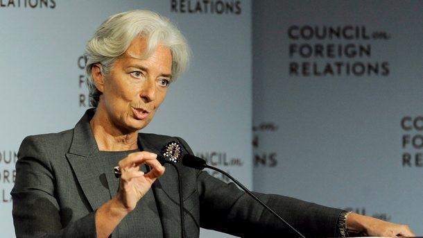 Председателят на Европейската централна банка Кристин Лагард заяви в понеделник,