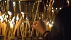 църква религия християнство свещи
