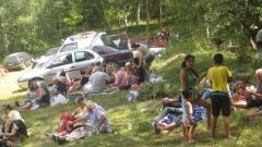 Гостите на празника идват в местността Бела вода и за да се насладят на прохладата и красотата на Стакевския балкан в горещите летни дни.