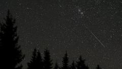 падаща звезда небе космос астрономия