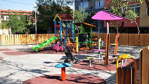 враца детска площадка