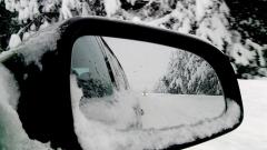 зима зимна обстановка път кола автомобил